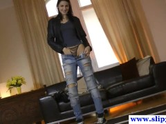 Tall casting euroteen loves to fuck old men