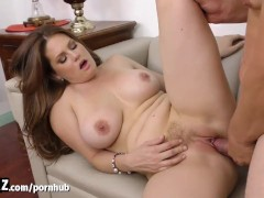 WANKZ - Busty Step-mom Seduces Her Step-son!