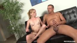Hot Redhead Amateur's Porn Debut w Huge Facial