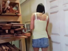 Warehouse Slut Creampie - Lydia Luxy