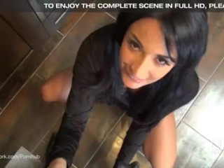 Sex Goddess Anissa Kate gives an Incredible POV blowjob