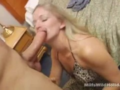 Milf Zia With Cock In Her Mouth
