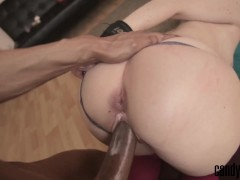 Candy May – Handcuffed and fucked by BBC, Anal