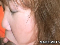 Kumiko Kaga - Plump JAV Mature Pussy Drilled And Creamed