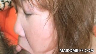 Kumiko Kaga - Plump JAV Mature Pussy Drilled And Creamed  doggy style cum in pussy kumiko kaga clit rubbing oral-sex close-up cock-sucking creampie maikomilfs jav old-on-young nasty jav cougar chubby mature japanese mature spooning
