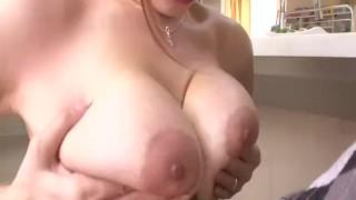 Dazzling blowjob with big tits Araki Hitomi  big boobs cock sucking cum in mouth tits tit fuck pov tit licking javhd mom sexy lingerie busty hot milf