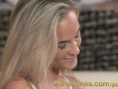 DaneJones Blonde nymph craves her tattooed lovers cum