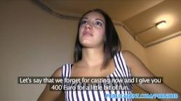 Prvýkrát casting pre porno