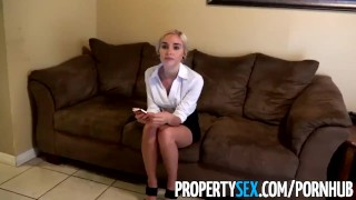 PropertySex - Really bad real estate agent fucks private investigator  point of view realtor sex big cock blonde cumshot pov missionary young cock sucking cowgirl beautiful facial doggystyle natural tits propertysex