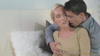 MOM Stunning MIlf sucks and fucks her younger stud dry  female orgasms ass tits blonde milf momxxx blonde blowjob mom big dick massage sensual pussy czech fingering orgasm oral sex female friendly shaved pussy
