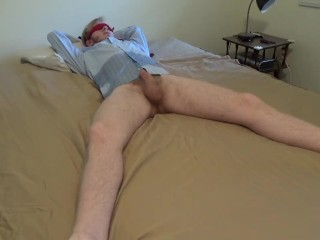 Male Desperation Peeing In Bed