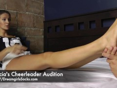 Felicia's Cheerleader Audition - www.c4s.com/8983/14437693