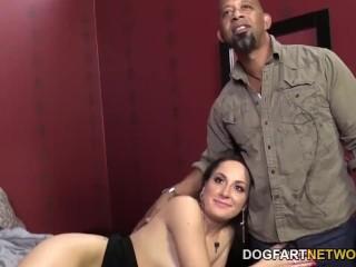 Marley Blaze Fucks A Black Cock In Front Of Her Cuck