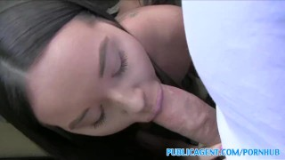 PublicAgent Big tits American fucks in public  american big-tits outdoors outside sex-for-cash amateur cumshot big-boobs public pov real camcorder sex-for-money brunette reality publicagent sex-with-stranger