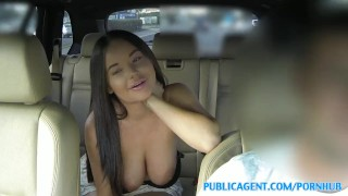 PublicAgent Big tits American fucks in public sex-for-cash publicagent amateur american real camcorder sex-for-money cumshot big-tits big-boobs outdoors public outside pov sex-with-stranger brunette reality