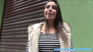 PublicAgent Personal trainer with amazing body fucks for cash  personal-trainer outdoors outside sex-for-cash amateur cumshot public pov fitness real camcorder sex-for-money reality spanish publicagent sex-with-stranger