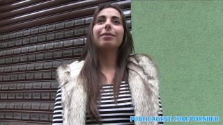 PublicAgent Personal trainer with amazing body fucks for cash spanish sex-for-cash publicagent amateur hot-body real camcorder sex-for-money cumshot personal-trainer outdoors public fake-tits outside pov fitness sex-with-stranger reality
