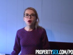 PropertySex – Innocent real estate agent turns into possessed sex demon