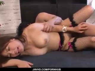 Buruma Aoi sure craves for cock in her wet vag