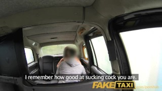 Preview 5 of FakeTaxi London cabbie arse fucks Spanish passenger