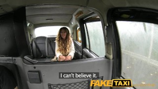Preview 1 of FakeTaxi Stunning gold digger with a great body
