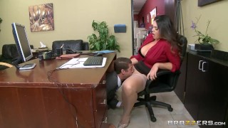 Preview 2 of Brazzers - Alison Tyler has a little office fun