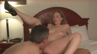 cuckold husband eats creampie  cuckold wife amateur