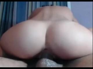 riding a bick cock