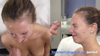 Cute Amateur Anal and Big Cum Facial in Porn Debut  ass fuck college excogi assfuck babe amateur blowjob first time cumshot pov casting real fingering shaved anal facial