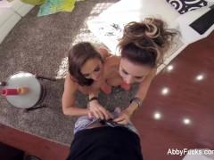 POV threesome with Abigail Mac & Jessica Jaymes