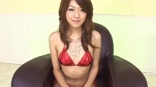Lusty Asian milf Nagisa Sasaki gets hairy pussy masturbated with sex toy  vibrator milf alljapanesepass hairy-pussy mother small-tits fingering lingerie dildo bikini mom sex-toys