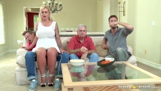 Brazzers - Stepmom takes some young cock  doggy style big tits riding reverse cowgirl blonde mom tattoo brazzers big dick busty milf pawg shaved mother big boobs big butt step mom brazzershouse fake tits