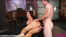 Nikki Benz gets a hard anal reaming