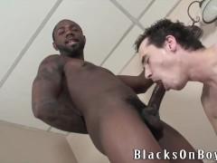 Brett Stone Fulfills His Fantasy For Black Cock