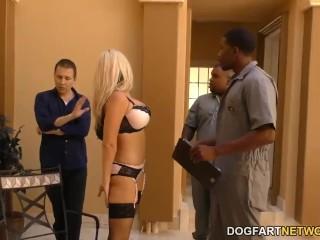 Alena croft cheats on her husband with black guys