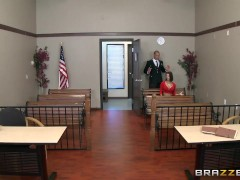 Brazzers – Peta Jensen gets some lawyer dick