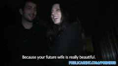 PublicAgent Spanish babe fucks stranger for cash