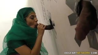 Nadia Ali having fun with black cock in a gloryhole  big cock bbc stripping blowjob gloryhole cumshot fetish big dick hardcore interracial dogfartnetwork facial big boobs pakistani uniform