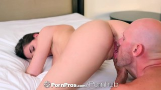 PornPros - Hot girl Molly Jane sensually dripping milk all over herself