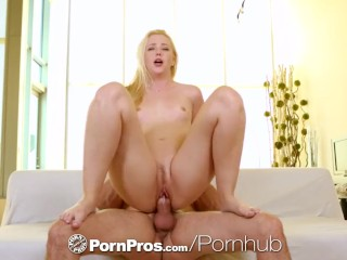 PornPros - Samantha Rone and Preston get off with dual masturbation