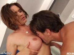 Krissy Lynn loving hard anal sex from Manuel Ferrara