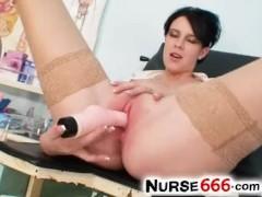 Ashley Stillar hot tits stockings and pussy spreading close-ups