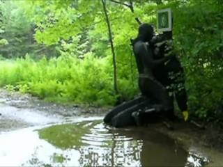 frogman puddle hump