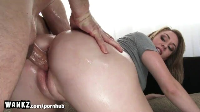 image Wankz hot blonde slammed by big black cock