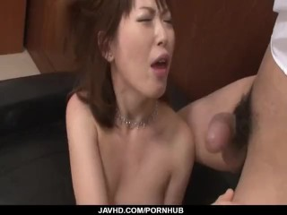 Steamy porn show for cock sucking mom, Nonoka Kaede