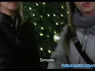 PiblicAgent in Due sorelle hanno come regalo di Natale due cazzoni da succhiare