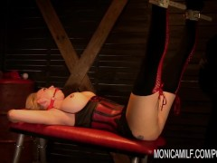 MonicaMilf used hard and squirts over and over again – Scandinavian porn