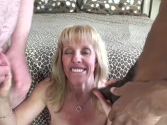 Double Creampie And A Mouth Full Of CUM!