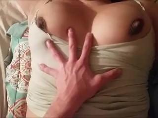 Pregnant Milf Sucks And Fucks Huge Cock