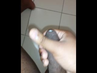 Short Trini Cumshot